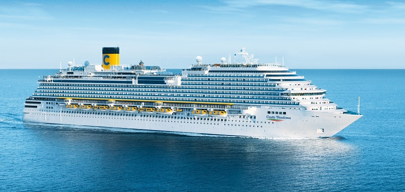 Costa Crociere riparte con sole destinazioni in Italia riservate a ospiti italiani
