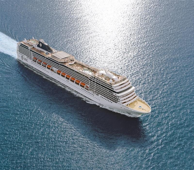 MSC Crociere sospende gli itinerari in Grecia fino al 29 aprile