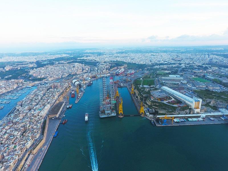 Joint venture tra MSC Cruises e Palumbo Group per gestire il cantiere Palumbo Malta Shipyard