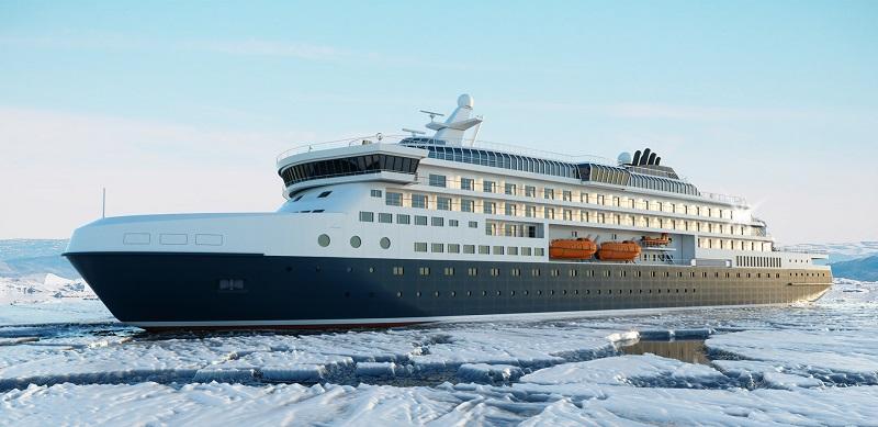 Knud E. Hansen svela il suo nuovo progetto di nave da spedizione rompighiaccio