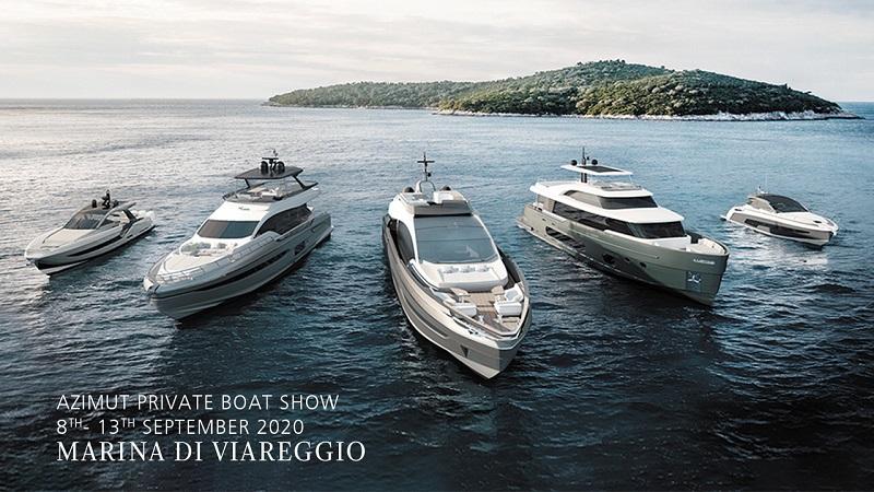 Un private boat show a Viareggio per conoscere le novità di Azimut Yachts