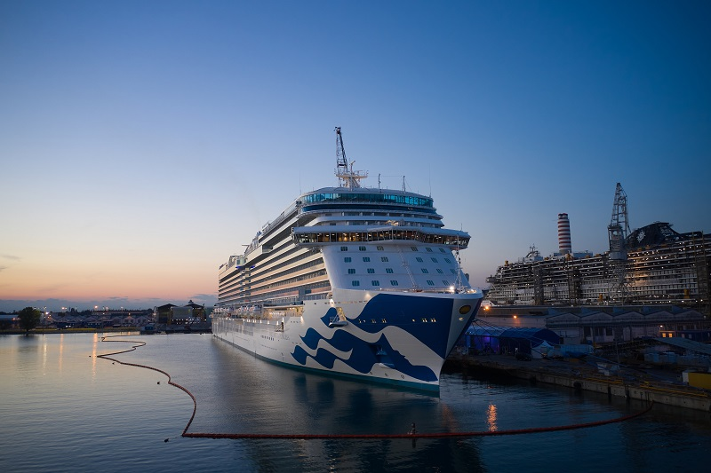 Fincantieri consegna Enchanted Princess