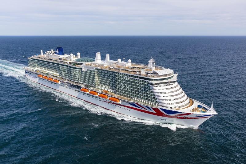 Meyer Werft consegna Iona, la più grande nave da crociera inglese