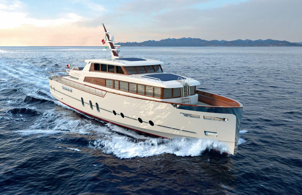 Codecasa presenta lo yacht del gentiluomo