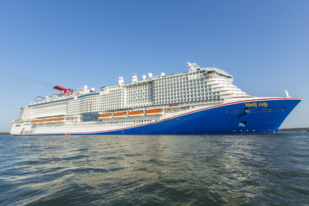 Meyer Turku consegna Mardi Gras, la nuova ammiraglia di Carnival Cruise Line