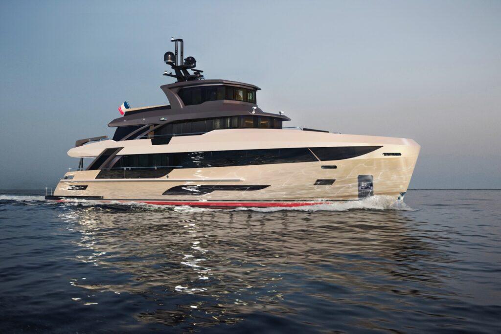 Posata la chiglia del primo B107 di Bering Yachts