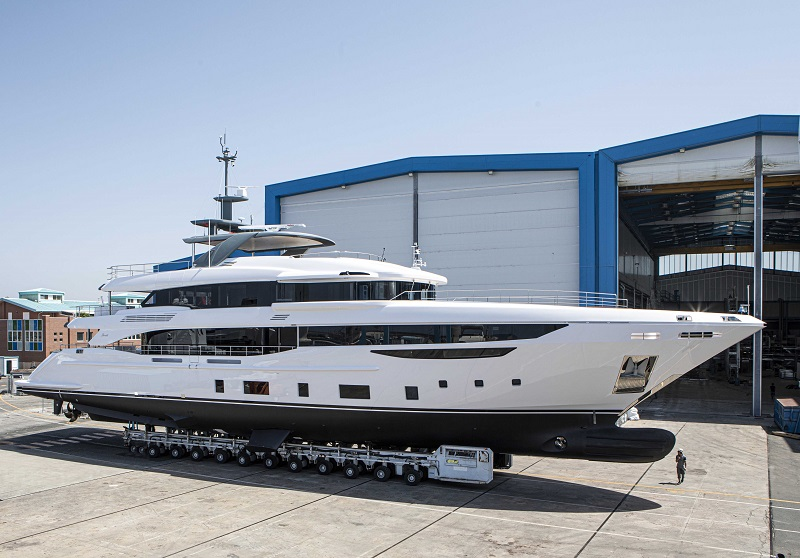 Venduta la quarta unità Benetti Diamond 145