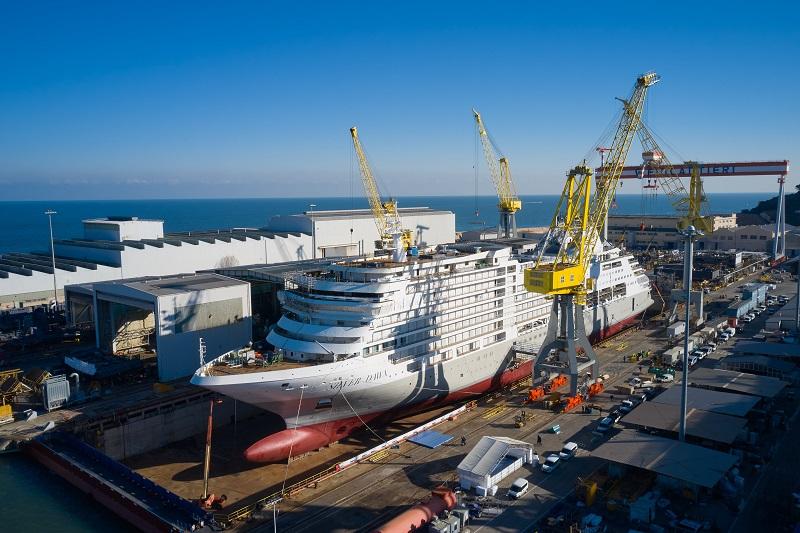 Fincantieri vara Silver Dawn, decima nave di Silversea