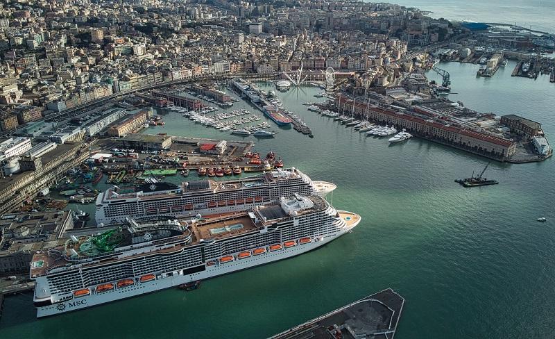 Parte oggi da Genova MSC Grandiosa per la prima crociera del 2021