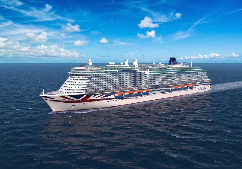 Si chiamerà Arvia la prossima ammiraglia di P&O Cruises