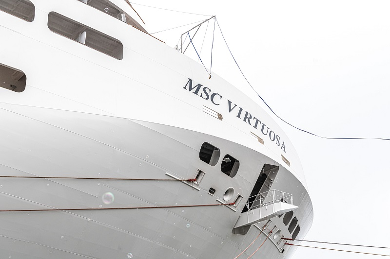MSC Crociere prende in consegna la nuova ammiraglia MSC Virtuosa