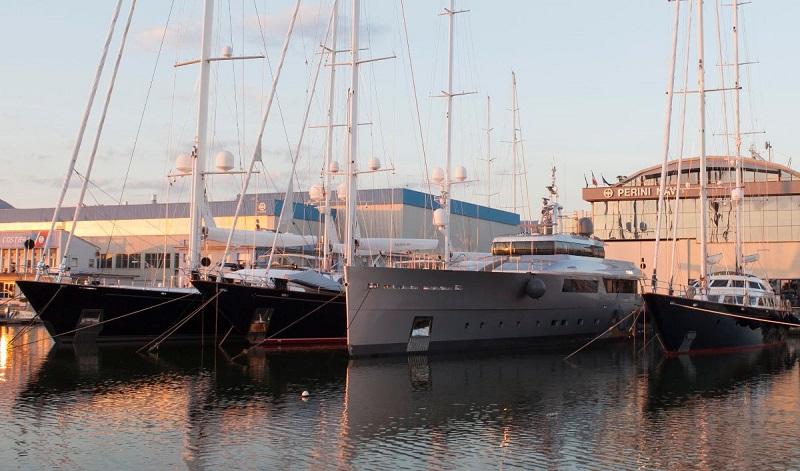 Joint venture tra Ferretti Group e Sanlorenzo per il salvataggio di Perini Navi