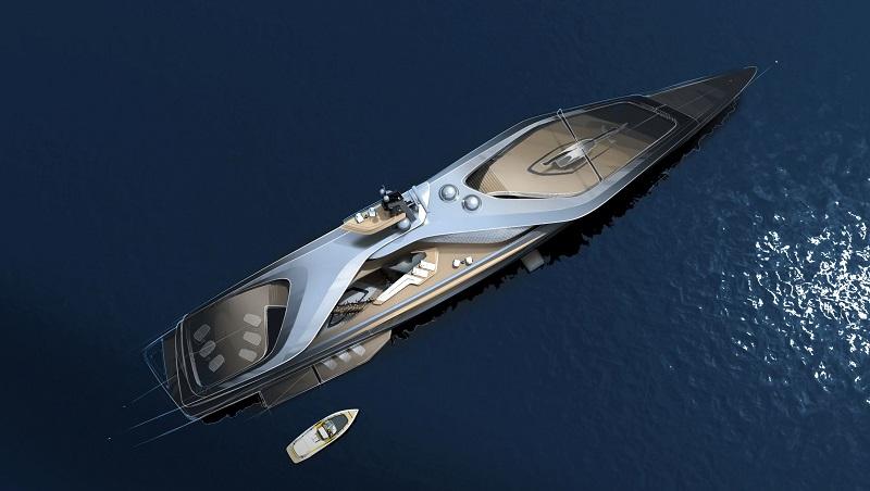 Oceanco, Pininfarina e Lateral uniscono le forze per creare Kairos, una rivoluzione per lo yacht design