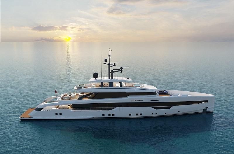 CRN svela i primi dettagli progettuali del bespoke yacht M/Y 142