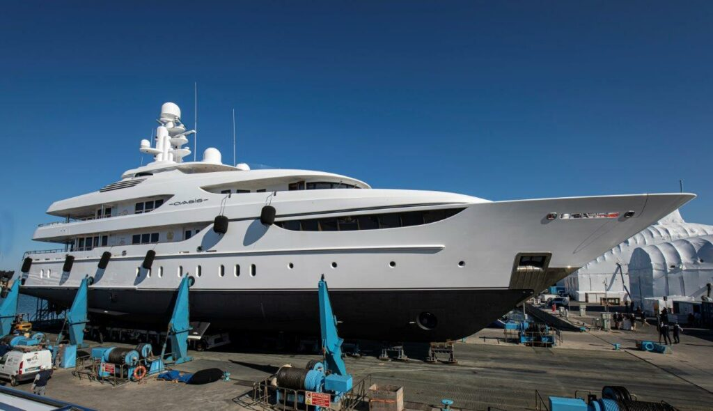 "Lusben termina il refit di M/Y ""OASIS"", superyacht di 60 metri firmato Lürssen Yachts"