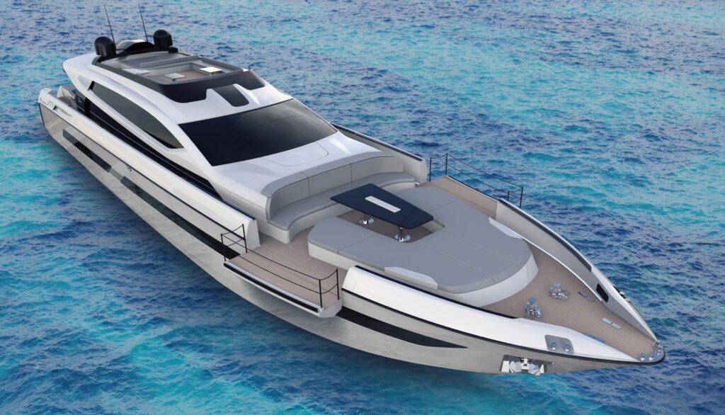 Otam Custom Range 115: velocità, stile e fascino in un superyacht su misura