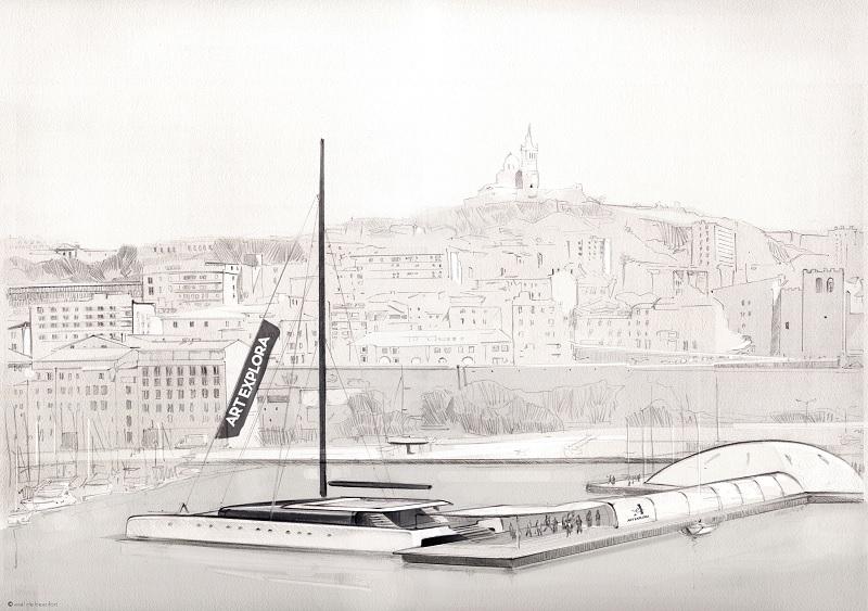The Italian Sea Group inizia la fase di progettazione esecutiva di Art Explora, catamarano a vela tra i più grandi al mondo