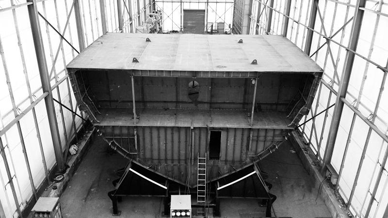 ISA Continental 80 metri: la costruzione procede spedita in linea con il programma di produzione