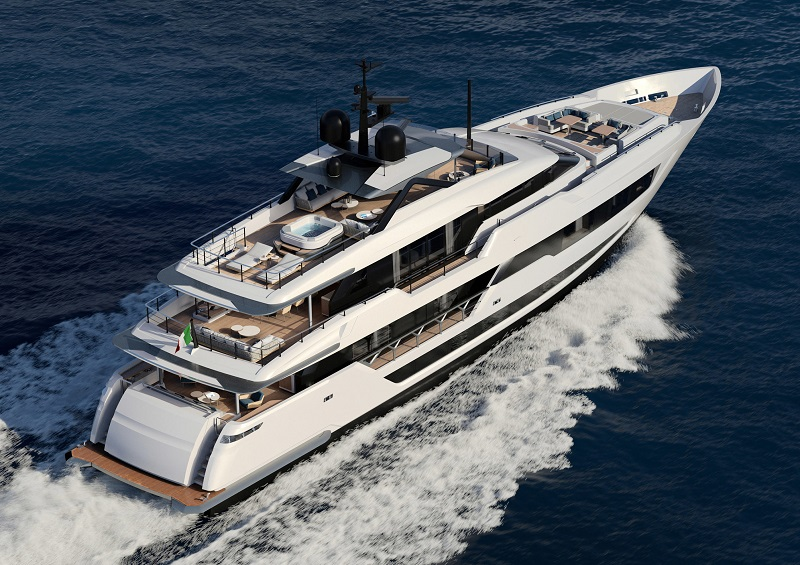 Custom Line 140′: la nave dei sogni esiste