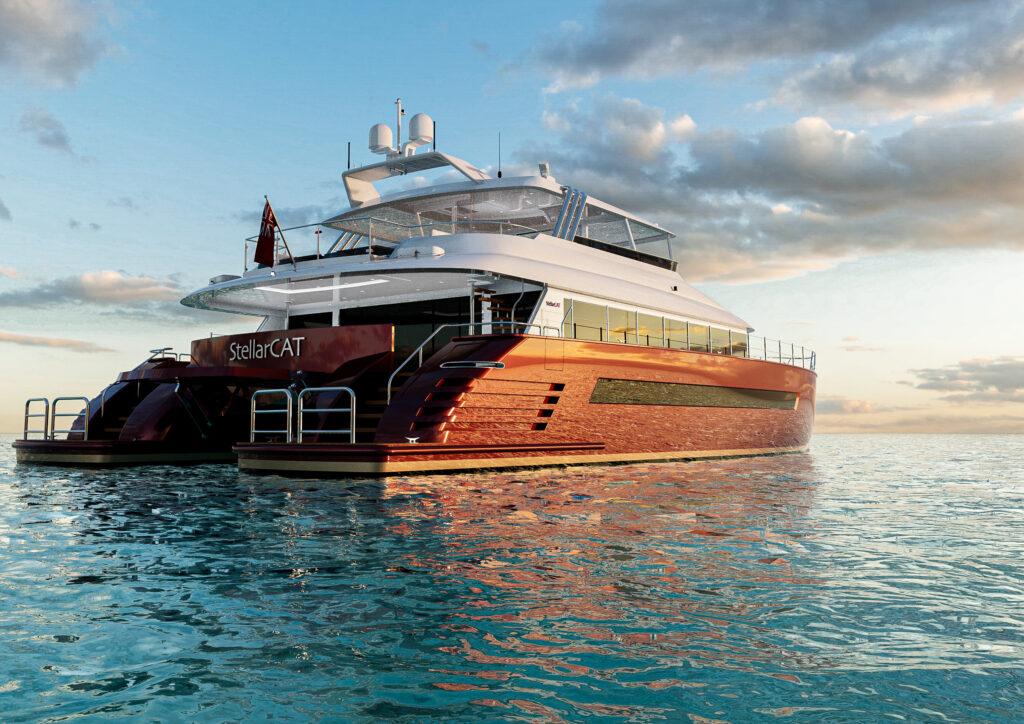 StellarPM presenta la linea di catamarani a motore StellarCAT