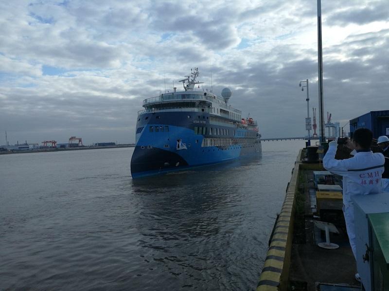SunStone Ships prende in consegna Ocean Victory, terza nave di classe Infinity