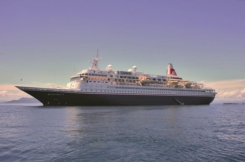 Boudicca raggiunge Aliaga. Inizia la fine delle prime navi di lusso con cui debuttò Royal Viking Line.