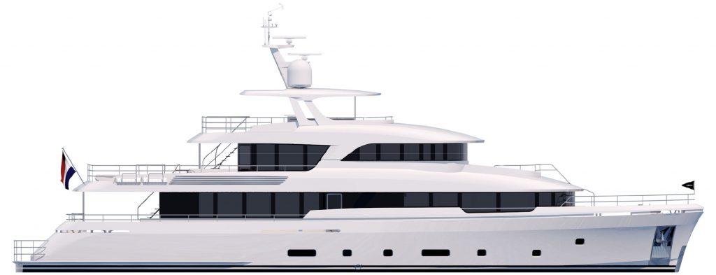 Moonen avvia la costruzione di YN 199, nuovo 36 metri della linea Martinique