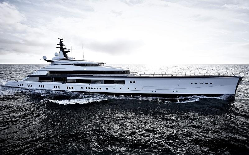 Oceanco consegna il rivoluzionario 109 metri Project Bravo