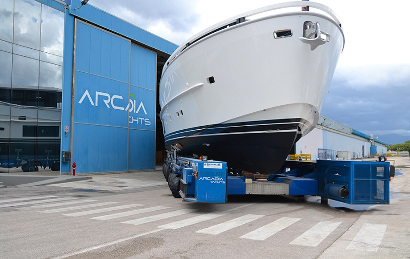 A maggio varati due yacht Arcadia