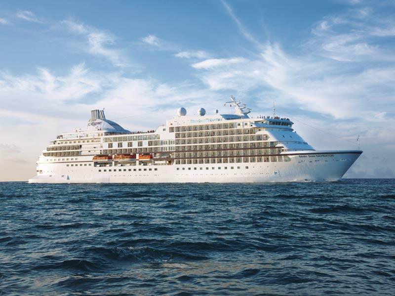 Completato il restyling della Seven Seas Navigator