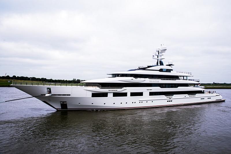 Oceanco consegna il 90 metri DreAMBoat