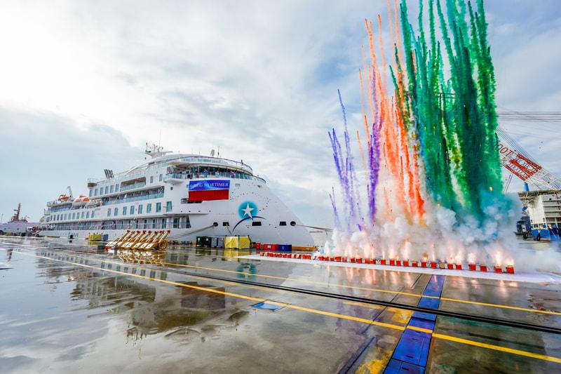 China Merchants Heavy Industry consegna in anticipo la Greg Mortimer, prima nave di classe Infinity