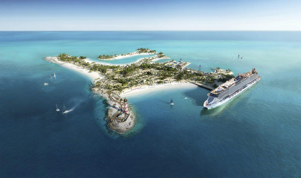 Ad Ocean Cay MSC Marine Reserve il battesimo di MSC Seashore