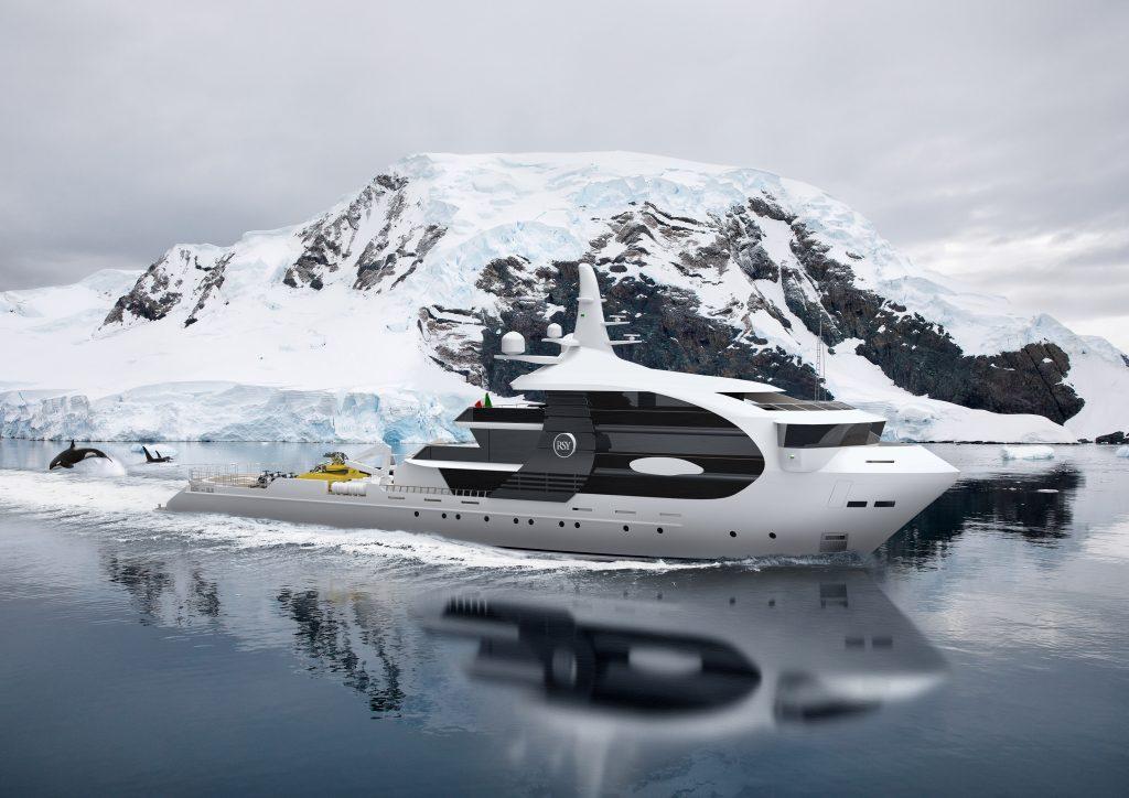 """Rosetti Superyachts presenta il nuovo progetto di explorer """"Orca"""": innovazione ispirata alla natura"""