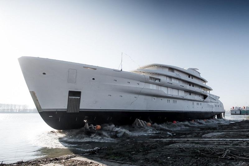 Varato il superyacht Amels più grande di sempre