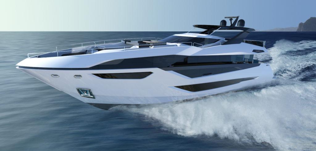 Grandi volumi e design da superyacht custom per il nuovo 30 metri di Sunseeker