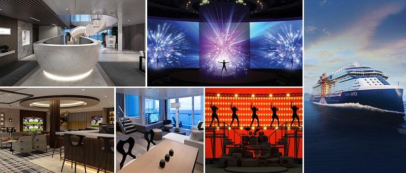 Celebrity Cruises svela le novità che debutteranno su Celebrity Apex