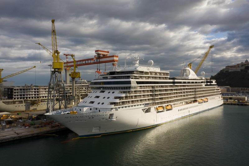 Fincantieri consegna Seven Seas Splendor