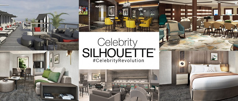 The Celebrity Revolution: completato il restyling di Celebrity Silhouette
