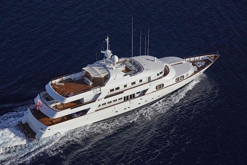 Northrop & Johnson vende il CRN 48 metri Lady Ellen II