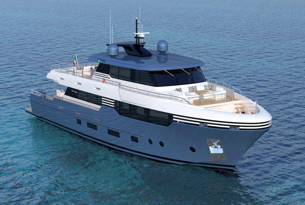 Italian Vessels debutta con Wide Space ed Enjoy, due nuovi progetti di Tommaso Spadolini