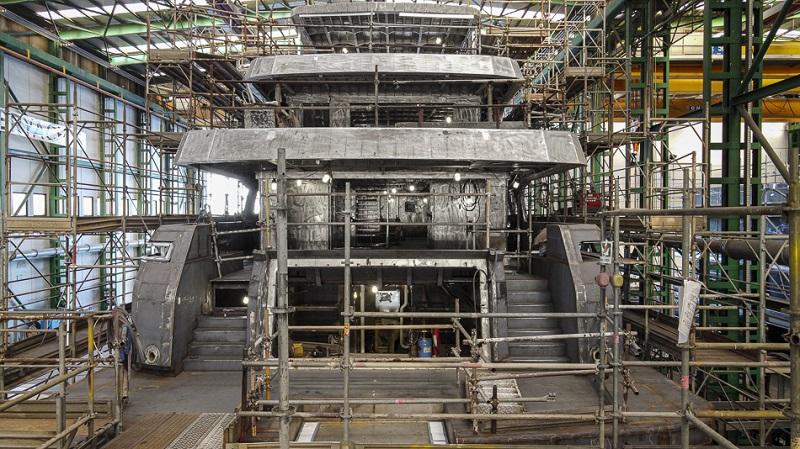 Procedono a pieno regime i lavori del primo explorer RSY di 38 metri