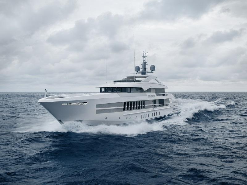 Heesen consegna il 55 metri Solemates, ex Project Castor