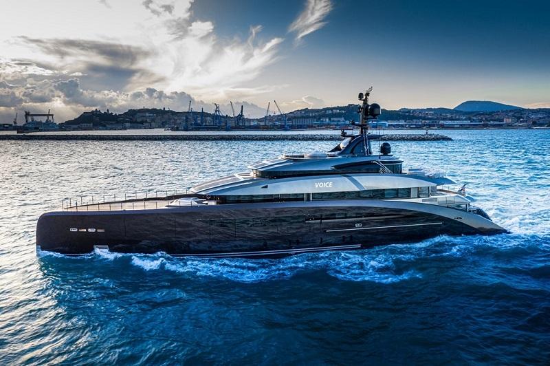 CRN consegna il megayacht M/Y 137, nuovo 62 metri icona di contemporaneità navale, creatività e sartorialità innovativa