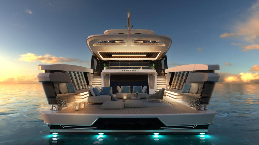 Domus, la villa sul mare in formato superyacht secondo Tecnomar