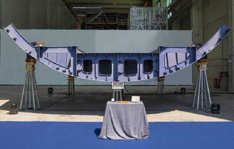Posata la chiglia di Blue Marlin, il nuovo motoryacht Admiral di 77 metri