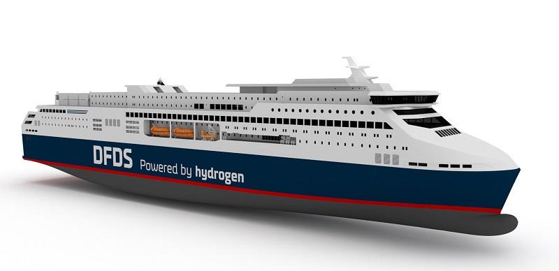 Nel 2027 potrebbe debuttare il primo traghetto ad idrogeno