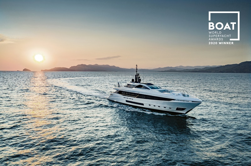 Mangusta GranSport 45 vince ai World Superyacht Awards 2020