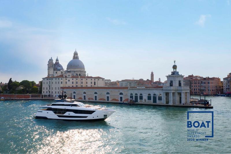 Custom Line premiata ai World Superyacht Awards 2020 per il Custom Line 106′ IV Dream