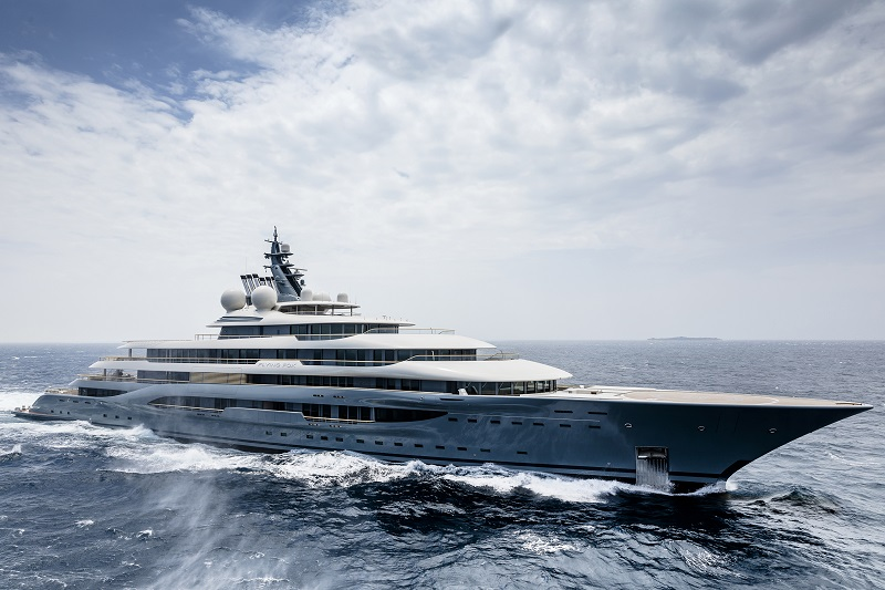 """Flying Fox vince ai  World Superyacht Awards nella nuova categoria """"Best DisplacementMotor Yachts5000 GT and above"""""""